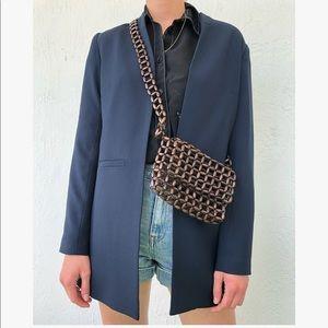Classic side pocket blazer Cynthia Rowley